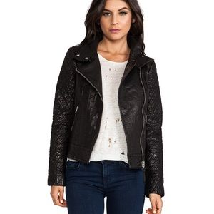 Mackage Jimmie leather jacket Small. Beautiful!